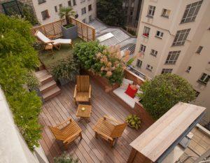 Árboles y responsabilidad en terrazas privativas